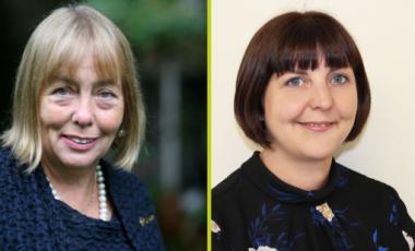 New board members Laura-Jane Rawlings and Dame Julia Cleverdon