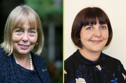 New board members Laura-Jane Rawlings and Dame Julia Cleverdon