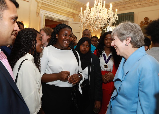 Young people speak the PM