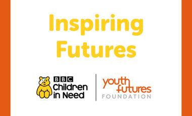 Inspiring Futures title and logos