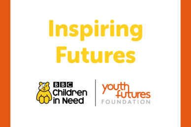 Inspiring Futures title and logos