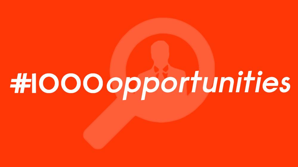 1000 Opportunities